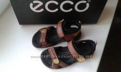 Ecco Экко оригинал натуральная кожа босоножки сандалии 28 р 17. 5 см