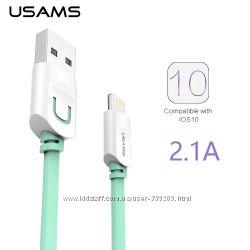Кабель для iPhone 5, 6 , 7 USAMS U-TRANS Series 1m СУПЕР КАЧЕСТВО