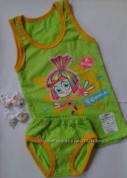 Комплекты нижнего белья для девочки на 4-5 лет Фиксики, Пеппа