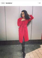 Пальто красное Tendens