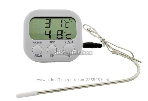 Цифровой, пищевой термометр для молока и пищевых продуктов