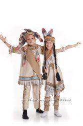 Костюми індіанця та індіанки на 3-11 років - Київ, Позняки