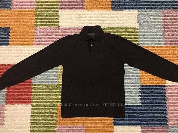 Тёплый свитер с застёжкой поло - Италия