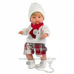 Испанская Кукла Llorens 38547 плачущая 38 см
