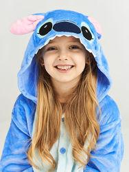 Пижама детская Стич, кигуруми,  рост 90-140см
