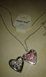 Кулон сердце украшения  бижутерия mary kay