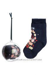 H&M Носочки в елочном шаре размеры 13-21