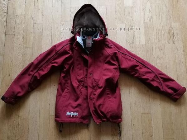 Демисезонная куртка burton с флиской