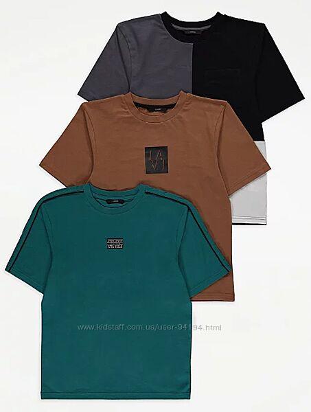 Комплект футболок george р.122-128,128-134