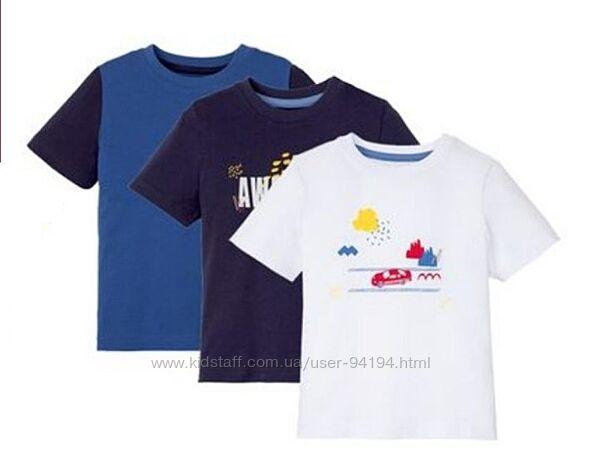 Комплект футболок lupilu р.98-104