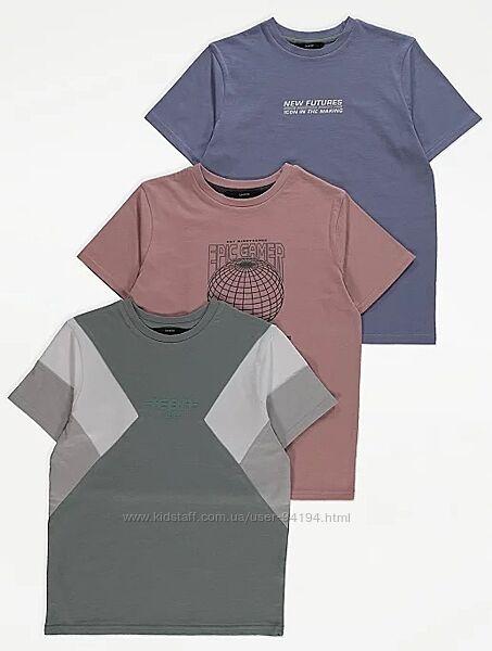 Комплект футболок george 140-146,146-152,152-158,158-164