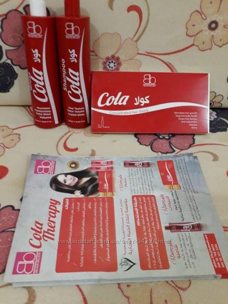 Шампунь, маска и ампулы питание, увлажнение, очищение Belkos Belleza КокаКо