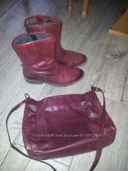 Ботинки VAGABOND и сумка