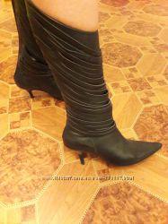 Сапожки стильные 25-25, 5 см 38-39 размер