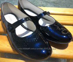 Лакированные туфли geox 24, 5 см стелька