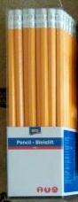 Карандаш простой Аро с теркой 50 шт. в упаковке