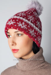 Теплые и красивые шерстяные шапочки для холодной зимы
