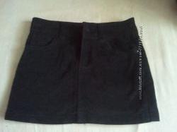 юбка для девочки велюровая 10-13 лет