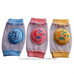 Защита детских колен и локтей. Наколенники и налокотники летние