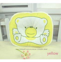 Подушка под голову для новорожденного в кроватке или коляске