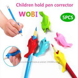 Рыбка насадка на ручку или карандаш. Учимся правильно держать