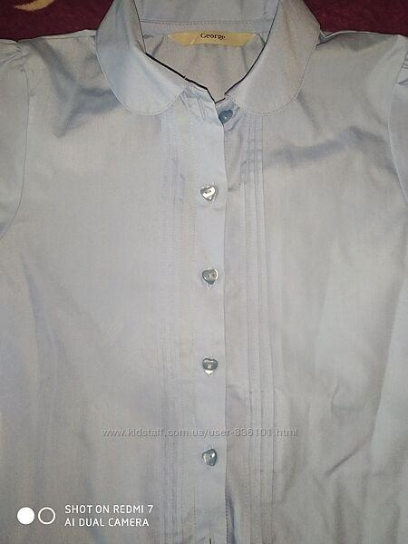 Блузы для девочек 7-8, 8-9лет