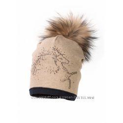 Зимние шапочки Jamiks для девочек распродажа