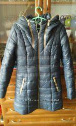 Новое пальто на силиконе, размер 44