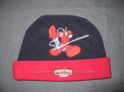 флисовая шапочка из Спайдерменом на 1-2 года