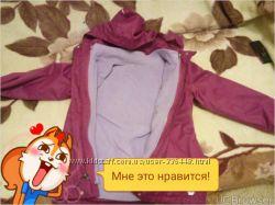 куртка чиббо 3 в 1 134-140 для девочки