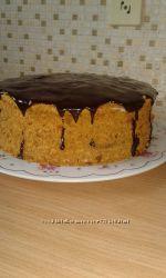 торт медовик многослойный
