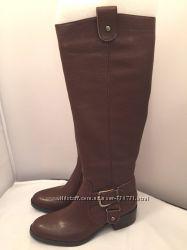 новые высокие кожаные сапоги из Америки.  27, 5 см стелька, пролет