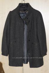 Модное демисезонное пальто H&M в отличном состоянии р. M-L. срочно, дешево