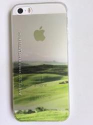 Отличные силиконовые чехлы IPHONE 5, 5S для любителей природы