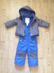 Комбинезон зимний картерс куртка курточка полукомбинезон комбез carters