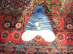 Детская зимняя шапка на овчине