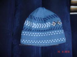 Детская теплая шапка для мальчика