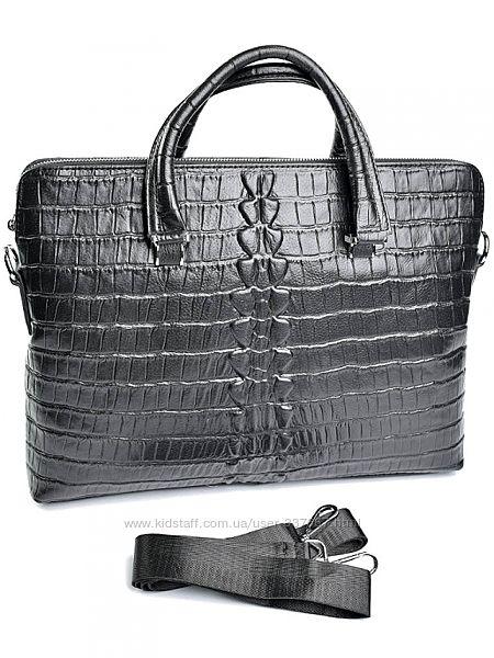 Мужские кожаные портфели. Стильно и практично.