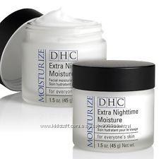 DHC - Мгновенный ночной крем. Экстра Увлажнение. Обновление кожи. 45г. Япония