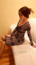 платье облегающее реплика Роберто Ковалли