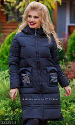 Куртка зимняя , утеплитель холлофайбер , размеры 42-54 , есть расцветки