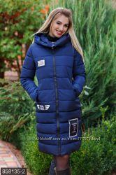 Куртка женская зимняя, утеплитель холлофайбер, размеры 42-54 , есть расцвет