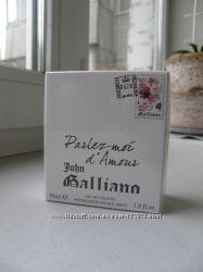 John Galliano Parlez-Moi d&180Amour туалетная вода 30 мл оригинал