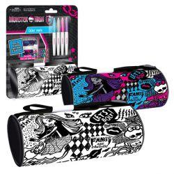 Пенал Monster High  для раскрашивания