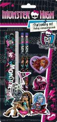 Наборы канцелярские, ручки, карандаши Monster High.