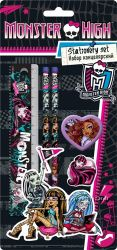 Наборы канцелярские, ручки, карандаши Monster High. Подарки к 8 Марта.