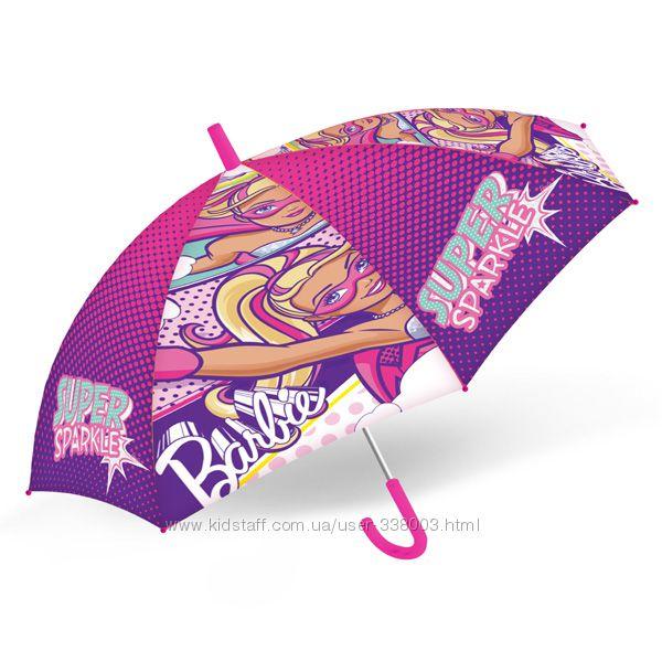 Яркий зонт Барби. Новая модель. Распродажа.