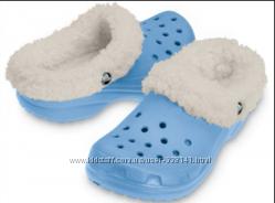 тапочки  для дома кроксы утепленные  Crocs Mammoth размер w6