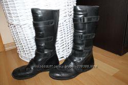Продам демисезонные кожаные  сапоги Prontos  р. 34  по стельке 23 см