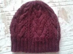 Вязанные шапочки ручной работы
